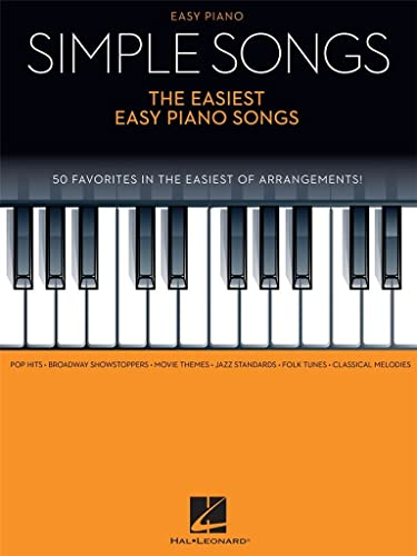 9781495011238: Simple Songs - The Easiest Easy Piano Songs
