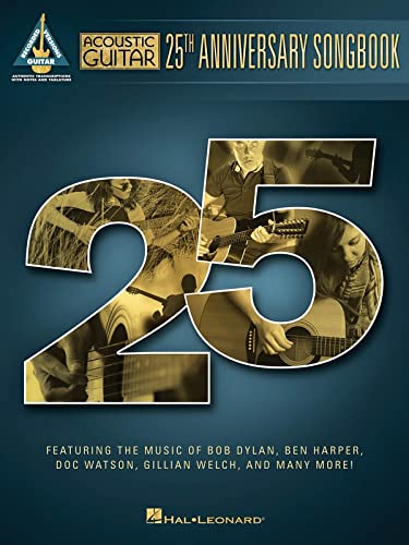 9781495011481: Acoustic Guitar 25th Anniversary Songbook