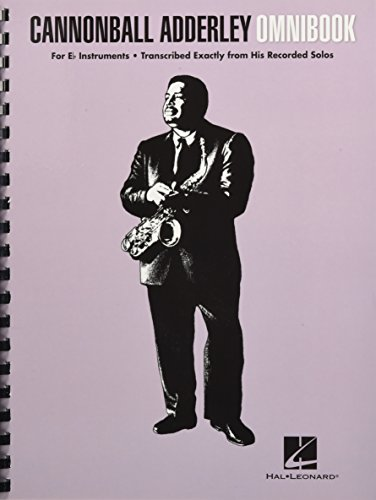 9781495011832: Cannonball Adderley - Omnibook: For E-flat Instruments
