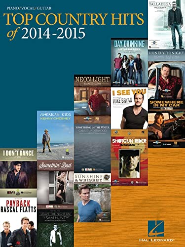 Top Country Hits of 2014-2015 (Paperback)