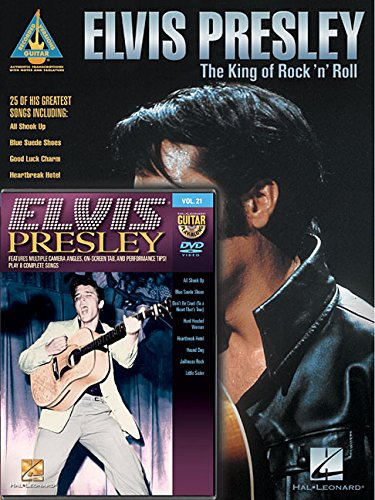 9781495013409: Elvis Presley Guitar Pack: Includes Elvis Presley - The King of Rock 'n' Roll book and Elvis Presley Guitar Play-Along DVD (Recorded Versions - Guitar Play-along)
