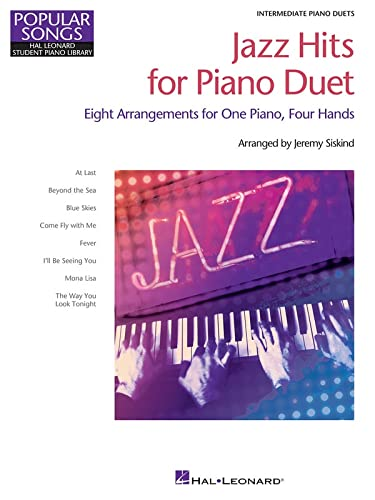 9781495014147: Jazz Hits for Piano Duet: Hal Leonard Student Piano Library Popular Songs Series Intermediate 1 Piano, 4 Hands