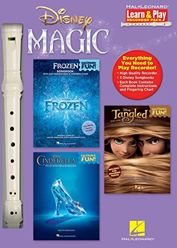 9781495016899: Disney Magic Learn & Play Recorder Pack