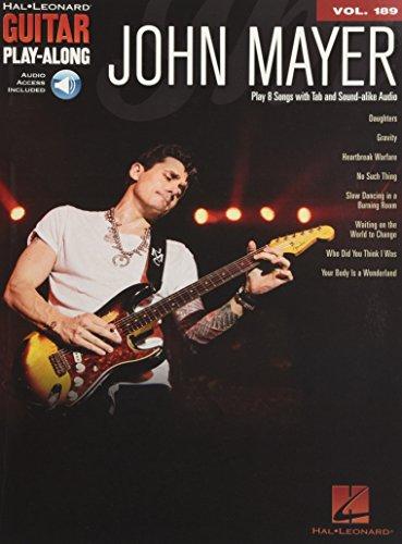 9781495017230: John Mayer: Guitar Play-Along Volume 189 (Hal Leonard Guitar Play-Along)