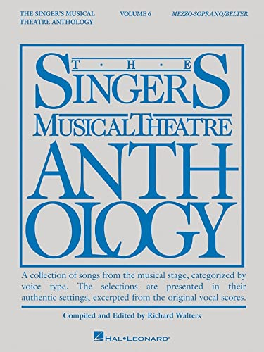 9781495019012: Singer's Musical Theatre Anthology - Volume 6: Mezzo-Soprano/Belter Book Only