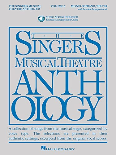 The Singer's Musical Theatre Anthology: Mezzo-Soprano/belter Book/online Audio