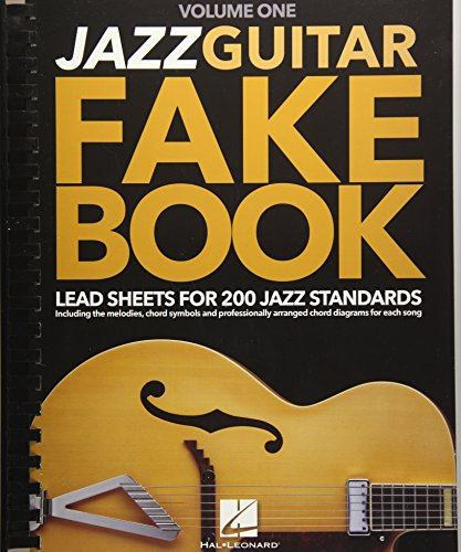 9781495019272: Jazz Guitar Fake Book - Volume 1: Lead Sheets for 200 Jazz Standards