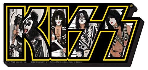 Kiss Photo LOGO - Chunky Magnet (Paperback)