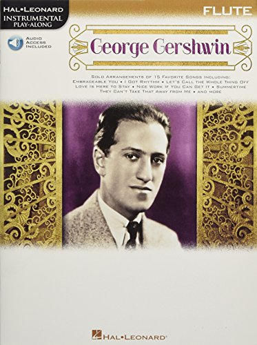 9781495022005: George Gershwin: Instrumental Play-Along for Flute