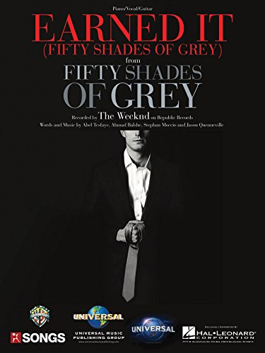 9781495022104: The Weeknd - Earned It (from Fifty Shades of Grey) - Sheet Music Single