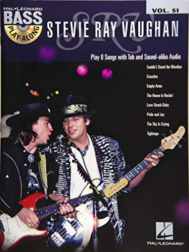 Bass Play Along Volume 51 Vaughan Stevie Ray Bgtr