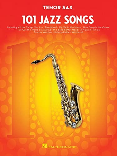9781495023408: 101 Jazz Songs: Tenor Sax