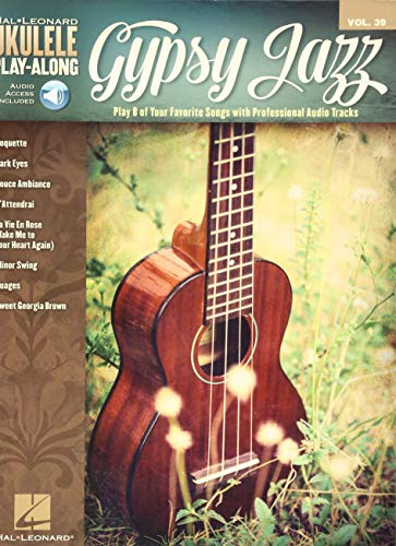 9781495025037: Ukulele Play-Along Volume 39: Gypsy Jazz (Book/Online Audio) (Hal Leonard Ukulele Play-along)