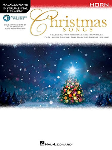 Christmas Songs: For Horn Instrumental Play-Along (Hal Leonard Instrumental Play-Along)