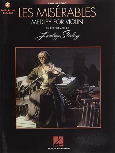 Les Miserables Medley for Violin Solo (Stirling Lindsey) Vln Bk/Audio