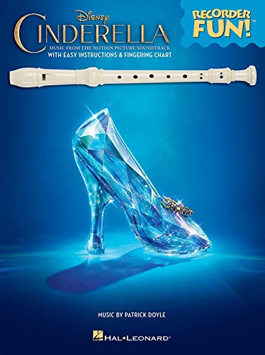 9781495026188: Cinderella - Recorder Fun!(tm): Music from the Disney Motion Picture Soundtrack