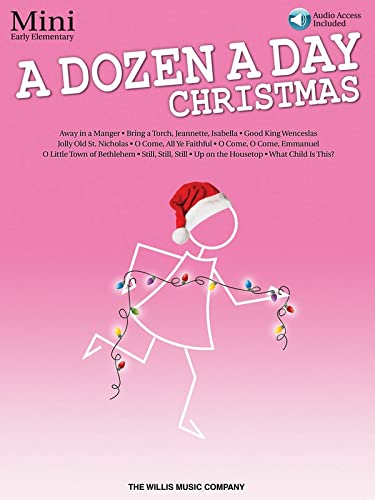 9781495026881: A Dozen a Day Christmas Songbook - Mini: Early Elementary Level