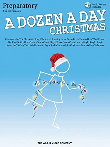 9781495026898: A Dozen a Day Christmas Songbook - Preparatory: Mid-Elementary Level