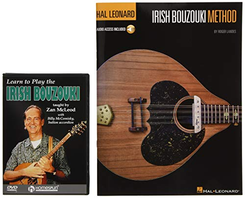 9781495027987: Irish Bouzouki Instructional Pack: Hal Leonard Irish Bouzouki Method Book/Audio Pack & Learn to Play the Irish Bouzouki DVD