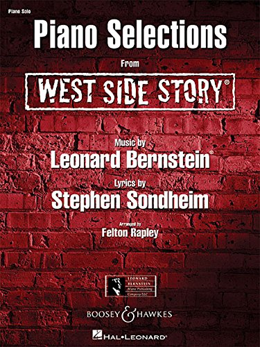 West Side Story: Piano Solo Selections (Paperback)