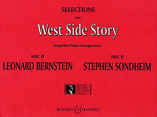 WEST SIDE STORY SELECTIONS SIMPLIFIED PIANO ARR.