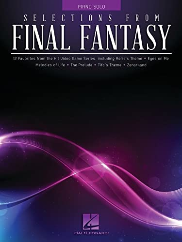 SELECTIONS FROM FINAL FANTASY - PIANO SOLO