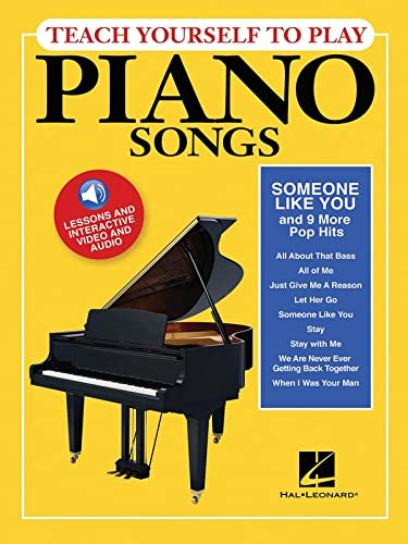 "Teach Yourself to Play Piano Songs: ""Someone like You"" & 9 More Pop Hits: Hal Leonard..."