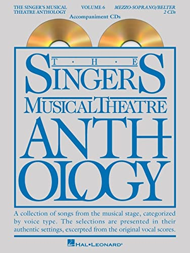 9781495045745: The Singer's Musical Theatre Anthology - Volume 6: Mezzo-Soprano/Belter Accompaniment CDs