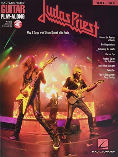 Judas Priest: Guitar Play-Along Volume 192 (Hal-Leonard: Priest, Judas
