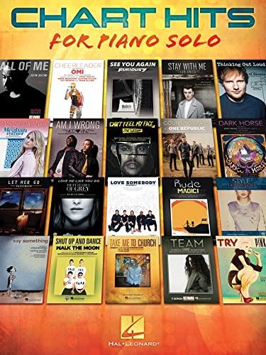Chart Hits for Piano Solo: Hal Leonard Corp