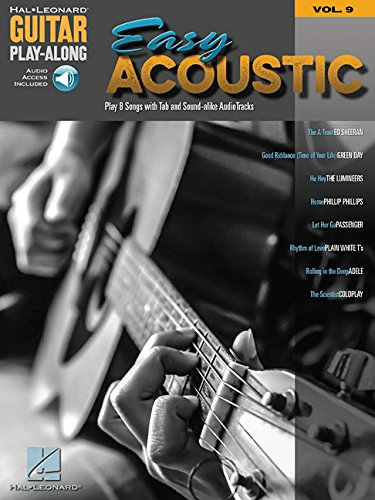9781495047367: Easy Acoustic Songs: Guitar Play-Along Volume 9 (Hal Leonard Guitar Play-Along)