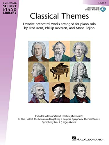 9781495047626: Classical Themes - Level 2: Hal Leonard Student Piano Library