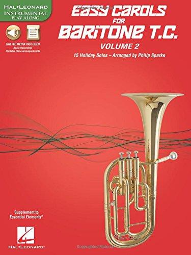 Easy Carols for Baritone T.C. - Vol. 2: 15 Holiday Solos: Philip Sparke