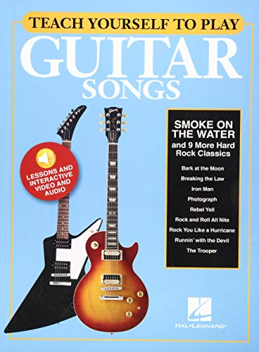 """Teach Yourself to Play """"Smoke on the Water"""" & 9 More Hard Rock Classics"""