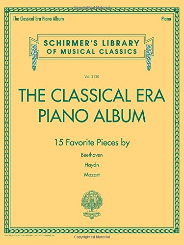 The Classical Era Piano Album (Paperback)