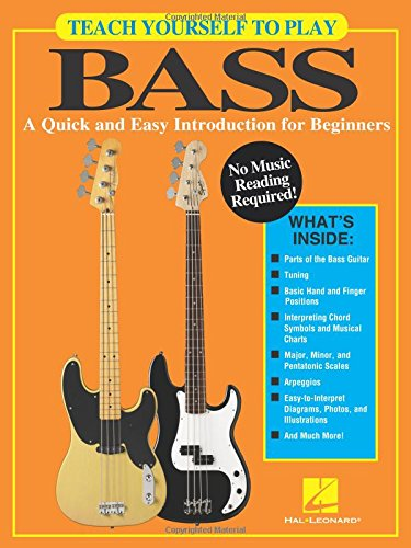 9781495054792: Teach Yourself to Play Bass: A Quick and Easy Introduction for Beginners