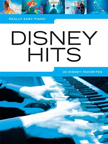 9781495055102: Really Easy Piano Disney Hits: 20 Disney Favorites
