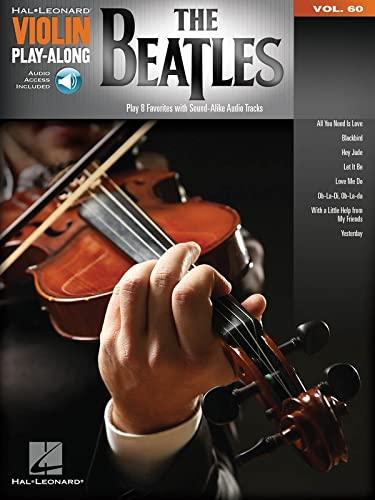 9781495056215: The Beatles: Violin Play-Along Volume 60