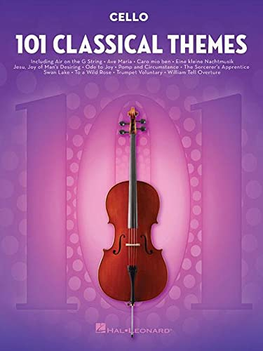 9781495056338: 101 Classical Themes for Cello