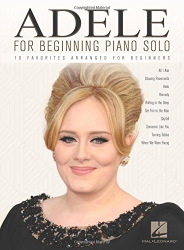 9781495058837: Adele for Beginning Piano Solo