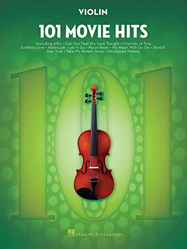 9781495060700: 101 Movie Hits For Violin