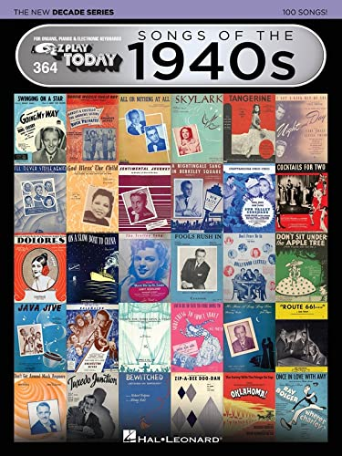 9781495062698: Songs of the 1940s - The New Decade Series: E-Z Play Today Volume 364 (E-zZPlay Today - the New Decade)