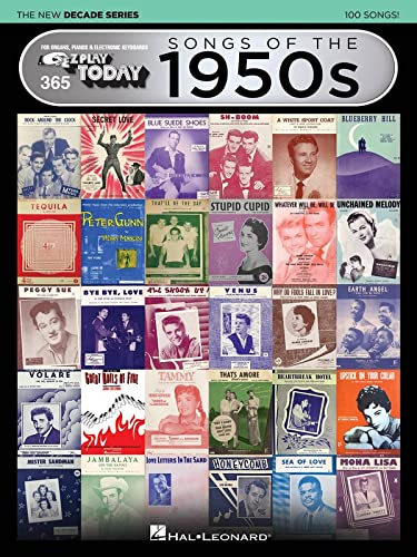 9781495062704: Songs of the 1950s - The New Decade Series: E-Z Play Today Volume 365 (E-z Play Today - the New Decade)