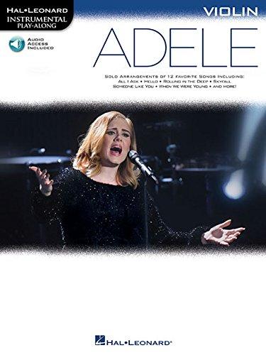 9781495063022: Adele: Violin (Hal Leonard Instrumental Play-Along)