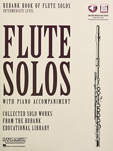 9781495065033: Rubank Book of Flute Solos - Intermediate Level: Book with Online Audio (stream or download)