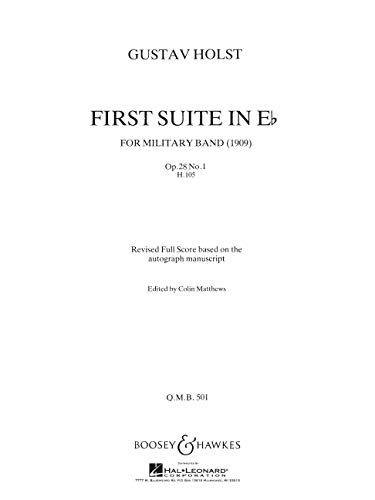 FIRST SUITE IN E FLAT OP28 NO1