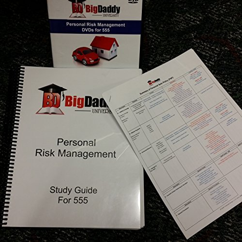 9781495110122: Big Daddy University Study Guide CPCU 555 - Personal Risk Management
