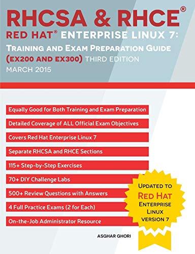 RHCSA & RHCE Red Hat Enterprise Linux: Ghori, Asghar
