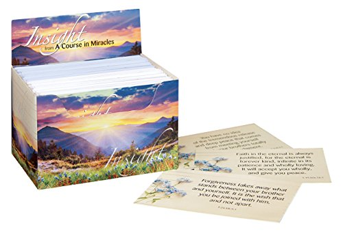 9781495164453: Insight from A Course in Miracles Cards