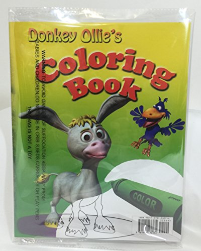 9781495176074: Donkey Ollie's African Adventure & Coloring Book